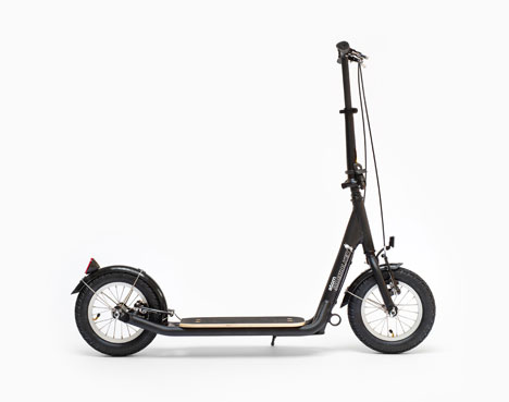 Sidewalker Atom Scooter - black