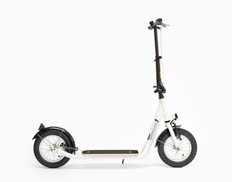 Sidewalker Atom Scooter - white