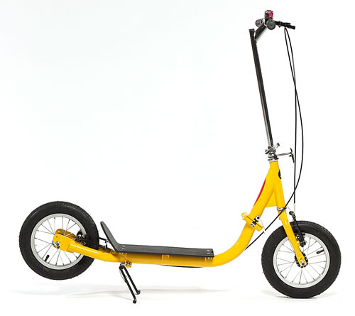 Sidewalker Micro Scooter - yellow